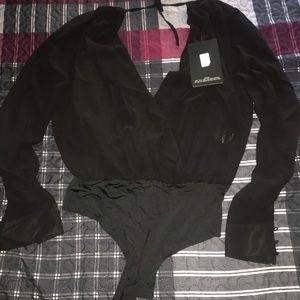 Bodysuit in black size 10